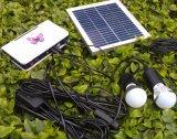Солнечное электричество сельское СИД освещает светильники с светильниками серебра 1W золотистыми 3W СИД
