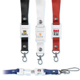 Lecteur flash USB promotionnel de Gift Lanyard avec Real Capacity