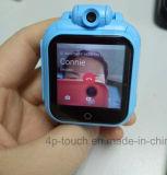 relógio duplo do GPS do núcleo do sistema 3G Android com atendimento de voz