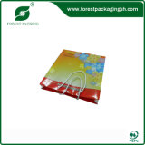 2015 Fancy New Design Colourful Yellow Cardboard Bag