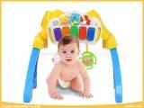 赤ん坊は音楽的なキーボードが付いている1演劇の体操のおもちゃの3つおよび赤ん坊のための馬の乗車をもてあそぶ