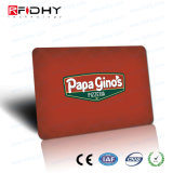HiggsのカスタマイゼーションRFIDのISO標準のサイズPVCスマートカード
