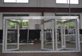 De alta calidad de la rotura térmica de aluminio plegable 4 marcos de puerta K07004