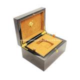Caixa de relógio de madeira personalizada da embalagem luxuosa