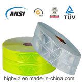 証明書が付いている光沢度の高いPVC反射テープ(EN20471及びEN13356)