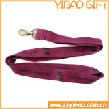 Metal Hook (YB-l-006)를 가진 도매 High Quality Nylon Lanyard