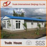 Здание светлой панели сандвича стальной рамки передвижное/модульное/полуфабрикат/Prefab дом семьи