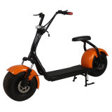 """""""trotinette"""" elétrico do estilo da forma da roda do reboque para o motor do jovem 1000W"""