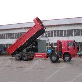 필리핀을%s Sinotruk HOWO 8X4 드라이브 371HP 덤프 트럭