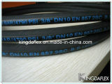 Flexibler Hochdruckstahldraht-verstärkter industrieller hydraulischer Gummiöl-Schlauch (EN857 1SC)