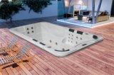 De goed ontworpen OpenluchtDraaikolk van de Jacuzzi zwemt Pool Sufr SPA (m-3337)