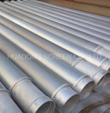 Tubo del filtro per pozzi di controllo della sabbia/filtro per pozzi multiplo dell'acqua di strato preimballato ghiaia