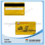 Tarjeta plástica del PVC de la raya magnética de la tarjeta inteligente