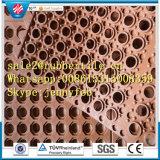 Entwässerung-ermüdungsfreie blockierende Gummifußboden-Matte (GM0407)