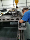 Cortador grande del laser del CNC de la hoja de metal de la potencia, máquina del laser para el aluminio, acero, plateado de metal