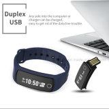 Bracelet intelligent portable Hb06 du bouton NFC de contact avec de la pression sanguine