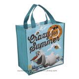Promocionales personalizados PP bolso tejido bolso de compras no tejido de mano, un bolso más fresco, Bolsa de algodón, bolsas de mano, bolso de lazo