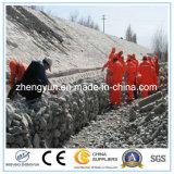 Коробка Gabion провода изготовления Китая шестиугольная/сваренное Gabion от Китая