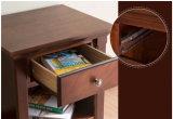 Mesa de cabeceira de madeira de gabinete de madeira de madeira de estilo antigo (M-X1098)