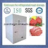 Cámara fría del desmontaje para el almacenaje refrigerado de la carne