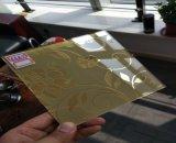 فنية لون مرآة لون زجاج انعكاسيّة زجاجيّة زخرفيّة