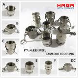 De aluminio de acero inoxidable latón PP Nylon Camlock Acoplamiento