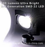 indicatore luminoso solare di obbligazione del sensore di movimento 22LED (RS2009B)