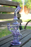 Grosses soldes! Purple Ftk Perfect Vortex Fab Egg Glass Water Pipe Glass Recycler