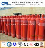 cilindro de gás de alta pressão do aço 40L sem emenda
