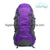 corsa 50L+5 che fa un'escursione il sacchetto di campeggio dei bagagli di festival dello zaino dello Zaino
