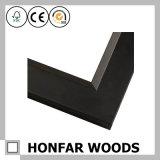 新しい現代黒い木製の額縁の鋳造物