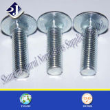 Parafuso de carro chapeado zinco (DIN603)