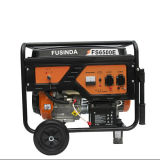 generador eléctrico de la gasolina de 5kw/5kVA 220/380V con el Ce, Fs6500e