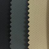 靴のための穴、ソファー、椅子、カー・シートカバーが付いている打つファブリックPUの通気性の革