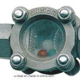 Self Cleaning Mirilla-Flow Indicator con Rotor, indicador de flujo con Rotor y Mecanismo de autolimpieza