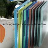 vetro laminato di vetro colorato 3/4/5/6+0.38/0.76+3/4/5/6mm
