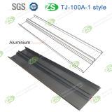 Scheda di bordatura di alluminio Slivery di protezione della parete della pavimentazione