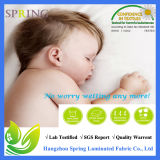 Rilievo di materasso impermeabile di bambù della greppia del bambino del panno di Terry