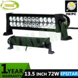 72W IP67 Offroad LEIDENE 16.5inch Lichte Staaf voor Jeep SUV