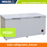 equipo solar del sitio del congelador de 433L 384L 335L 303L 233L 170L 128L para el precio de la conservación en cámara frigorífica de los pescados