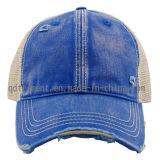 Помытая бейсбольная кепка спорта Twill вышивки печатание разрядки (TRB02755)