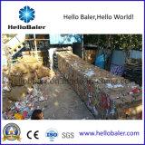Papier de rebut horizontal automatique hydraulique réutilisant la machine de emballage