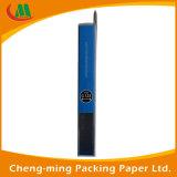Boîtes-cadeau de PVC d'espace libre de couvercle de guichet de papier de fantaisie de production d'OEM