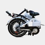 Ebike 250W 2つのシートが付いている電気都市バイクを折るAlの合金フレーム