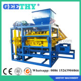 Máquina de fatura de tijolo concreta do cimento automático de Qtj4-25 Filipinas