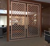 Schermo decorativo dell'acciaio inossidabile, divisorio del divisore del salone per la decorazione della stanza