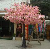 Decoração do casamento da árvore da flor de cereja da cor-de-rosa do Sell da fábrica