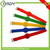 赤く青く黄色いカラーMIFARE標準的な1k 13.56MHz RFIDリスト・ストラップ