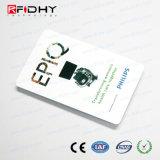 (Interfaccia doppia) scheda bianca universale del PVC di lucentezza