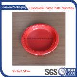 Plateau en plastique remplaçable coloré de plaque